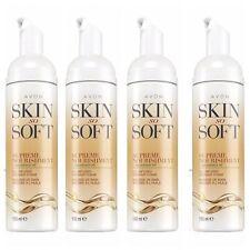 4x Avon Skin So Soft Supreme Nourishment Oil-Infused Shower Foam 150ml(600ml)