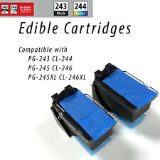 New Edible CANON PG-245, CL-246 Ink Cartridges