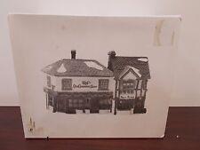 Dept 56 Dickens Village The Old Curiosity Shop #5905-6 Christmas Porcelain
