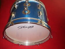 More details for small     bass    drum     16    inch       stagg     brand
