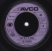 THE STYLISTICS Star On A TV Show / Hey Girl, Come And Get It 45