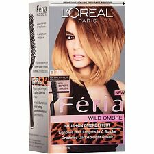 L'Oreal Paris Feria Wild Ombre Effect Hair Color, o70 Dark Blonde To Light Brown