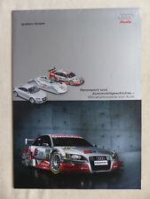 AUDI modelli in miniatura-Rally Sport quattro rs4 q7-prospetto brochure 04.2006