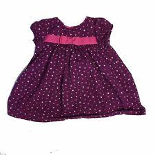 Gymboree Baby Girls 6-12 M Purple  Dress Cute