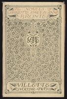 1905 Vtg Villette (Vol 2) Charlotte Bronte Edmund Dulac Illustrations JM Dent Ed