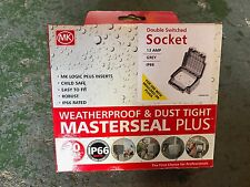 Mk Masterseal Plus Double Socket
