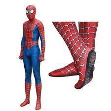 Costume Spiderman cosplay professionale suole in gomma vestito adulti animazione