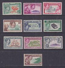 Pitcairn Islands 1938 Mint MLH Full Set Definitives KGVI Bible Birds Ship School