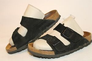 Birkenstock Womens Size 4 35 Arizona Suede Soft Foot Germany Made Sandals Shoes
