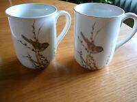 Mugs Otagirl Coffee Tea Mug Birds Design Gibson Greeting Cards Vintage Lot 2 #