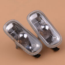 Pair Side Marker Indiator Fender Turn Signal Light Lamp for Audi A3 A4 A6 S4 S6