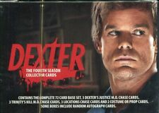 Dexter Season 4 Factory Sealed Trading Card Premium Box