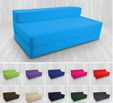 Z Bed Double Size Cotton Fold Out Chair Bed Foam Cotton Folding Guest Sofa Bed