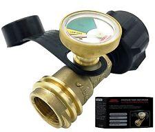 Premium Gauge Master Propane Tank Gas Meter - Cylinder Gas Level Indicator Ad...