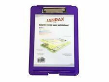 A4 Purple Clipboard Box File - Storage Filing Case