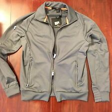 NEW RLX RALPH LAUREN CITY TECH HOODIES GRAY JACKET TWO ZIPPER MEN SIZE SMALL S