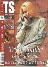 Catalogue TRICOT SELECTION n° 280 octobre 2001/Hiver/16 modèles