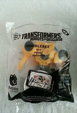 Transformers Robots In Disguise Bumblebee #5 2016 McDonalds Happy Meal Toy NIP