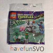 New Lego TMNT Kraang Laser Turret 30270 Sealed Mini Figure Mutant Ninja Turtles