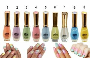 NEW SHADE Just in Pastel & Cream Nail Varnish in a Choice of 9 New Colours