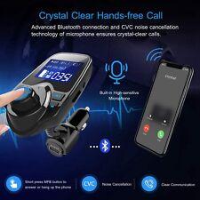 Car Bluetooth FM Transmitter Wireless MP3 Radio Adapter Handsfree USB Charger