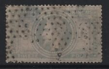 "FRANCE STAMP TIMBRE 33 "" NAPOLEON III 5F VIOLET GRIS "" OBLITERE ETOILE VOIR R899"