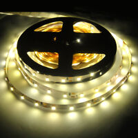 5M 3528 SMD WarmWhite 300 Led Strip Light Nonwaterproof Car 12V 16.4ft Lamp Tape