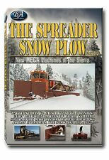 THE SPREADER SNOW PLOW NEW MEGA MACHINES OF THE SIERRA NEW DVD VIDEO DONNER RAIL