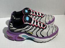 Nike Air Max Sequent Print girls 6Y purple athletic sneaker 820330-500