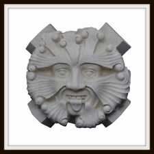 THE TEWKESBURY ABBEY GREEN MAN ROOF BOSS ~ GREENMAN WALL PLAQUE ~ GARDEN OR HOME