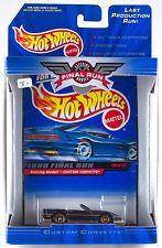 Hot Wheels 1999 Final Run Retired Custom Corvette #10 New In Box
