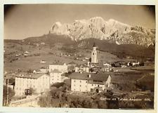Fritz Gratl, Italie, Tyrol, Cortina d'Ampezzo, ca.1880, vintage albumen pri