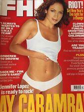 Fhm Uk Magazine December 1998 Jennifer Lopez