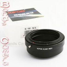 Kipon Konica AR Lens to Sony NEX E mount Adapter A7 A7R NEX-7 5T 6 A5000 A6000