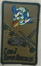 Patch Arm Green C-130J Super Hercules Air Force French-German Transport Squadron