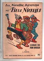 FORTON.  L'audace des Pieds Nickelés.  Album n°6. SPE 1949. prix 75 fr