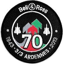 70°ANNIVERSAIRE   du   3 / 3   ARDENNES    1943 - 2013         patch sur scratch