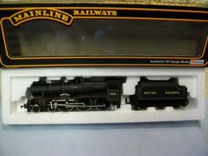4-6-0 Loco 45536 'Pvt. W Wood  VC' BR Black Mainline 37-076 '00 Bachmann Chassis