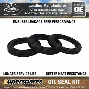 Gates Timing Belt Oil Seal Kit for Mazda 929 HC MPV LV JE3 JE94 123 140 113KW