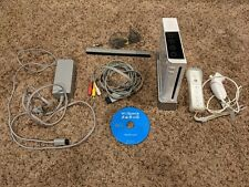 Nintendo Wii White Console w/ Wii Sports and 1 Controller RVL-001 missing door