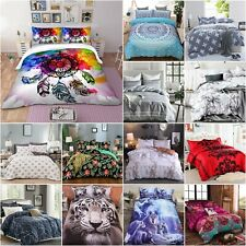 2020 AU Soft Duvet Doona Quilt Cover Set Single Double Queen King Size Bed Set