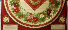 """Wilmington  """"Holiday Finery"""" Tree Skirt/Tablecloth fabric Panels"""