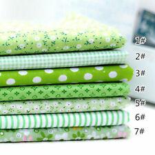 100% Cotton Fabric Assorted Pre-Cut Bundle DIY Decor 10/25cm 5-50Pc
