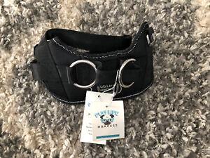 Pug Life Dog Harness Black Size XS