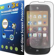 3x Anti-Glare Matte Lcd Screen Protector Guard Cover Film for Zte Compel Z830