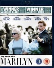 My Semana Con Marilyn (blu-ray / Eddie Redmayne/ MICHELLE WILLIAMS 2012)