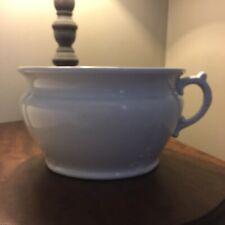 1890-1909 J.&G. Meakin Hanley England Ironstone China White Antique Chamber Pot