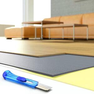 Grau Trittschalldämmung 3mm & 5mm Fußboden XPS Dämmunterlage Laminat Parkett