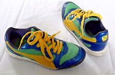 PUMA Cross Trainers Sneakers Shoes Art No. 348450 08 Womens size 7.5 Blue Yellow