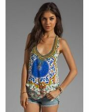 Silk Blend Tank, Cami Dry-clean Only Sleeve Tops & Blouses for Women